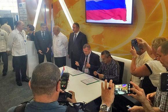 Куба и Россия подписали соглашения на FIHAV 2016