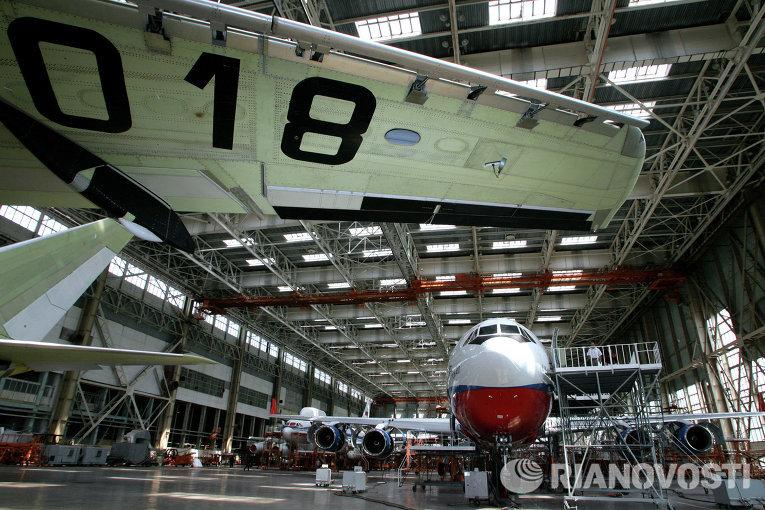 Воронежский авиазавод завершит ремонт Ил-96-300 для Кубы к концу года
