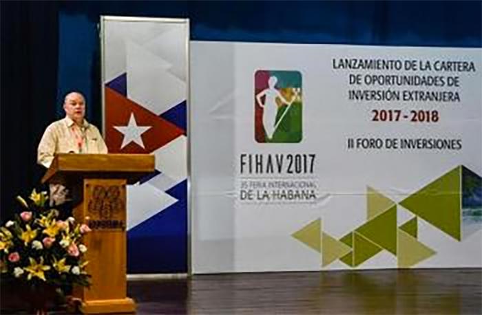 Куба представила новый Портфель возможностей для иностранного вложения