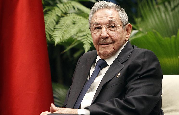 Рауль Кастро уйдет с поста председателя Госсовета Кубы в 2018 году