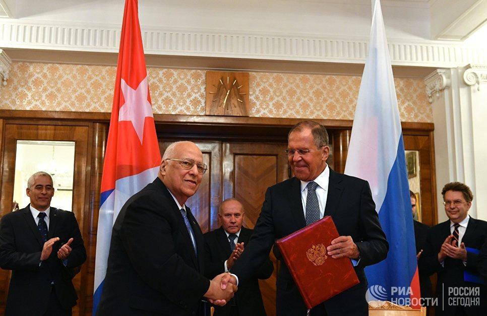 Россия и Куба подписали соглашение об упрощении визового режима