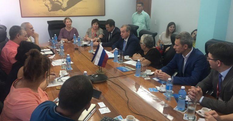 Приангарье будет развивать сотрудничество с Кубой