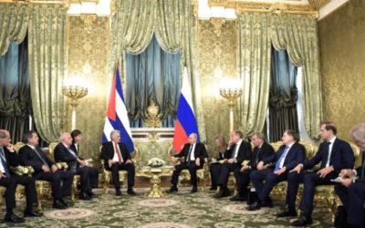 Денис Мантуров принял участие в российско-кубинских переговорах