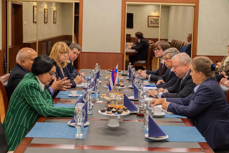 Сергей Беднов встретился с президентом Торговой палаты Республики Куба