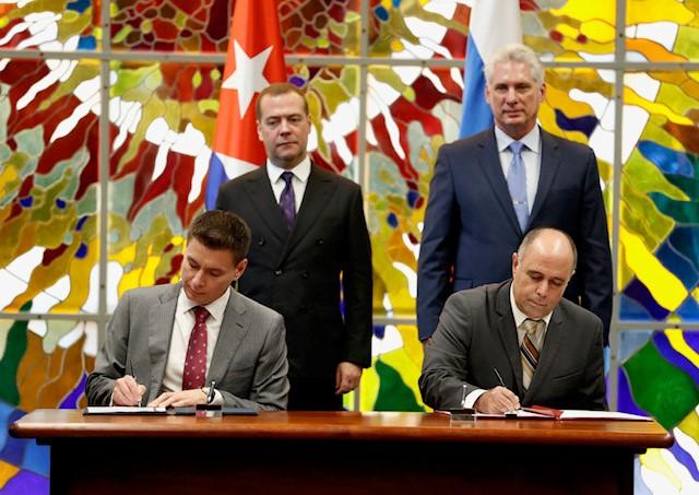 РЭЦ заключил с кубинскими партнерами соглашений на сумму более 50 млн евро
