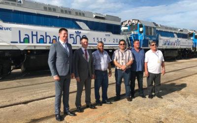 500 лет Гаване: локомотивы ТГМ8КМ прибыли на остров Свободы