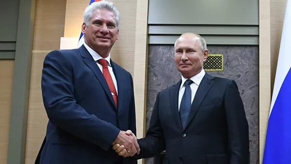 Стратегическое партнерство и День Победы: что обсудили лидеры России и Кубы