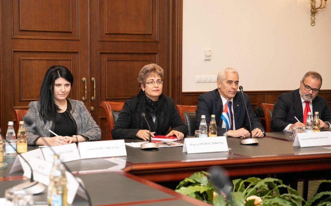 Заместители министров транспорта России и Кубы провели переговоры в Москве